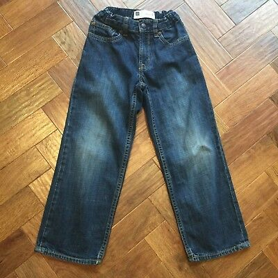 GAP Boys Loose fit Blue Denim Jeans Age 6 Years