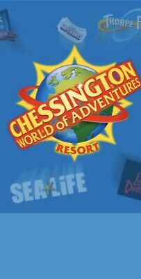 Chessington World Of Adventures THEME PARK E-TICKET x 2 Adults Friday 22nd May