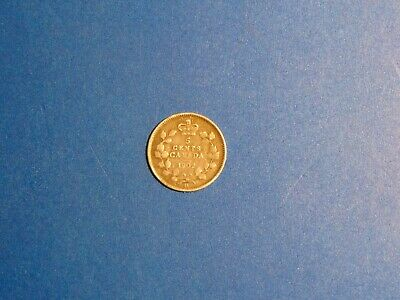Canada 5 Cents KM# 9 1902(no mint mark)  Large broad H A673 I COMBINE SHIPPING