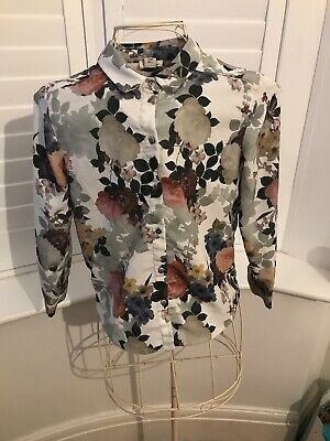 2 x River Island Girls age 10 Floral Long Sleeve Blouse And Mini Owl Design