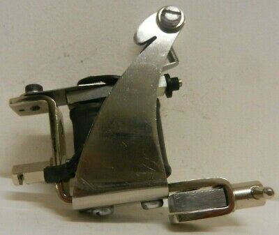 vintage early ronnie starr tattoo machine - rare stainless side