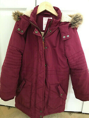 Girl's Fat Face coat age 8-9 years