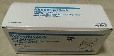 Box of 50 Kimberly Clark PFR95 N95 Particulate Respirator & Surgical Mask