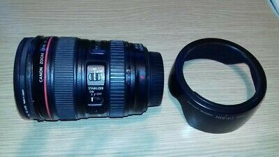 Canon L-series 24-105mm F/4 L IS USM Lens used good condition