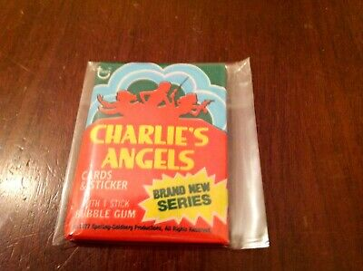 """(1) Unopened Mint Wax Pack- 1977 Topps """"Charlie's Angels"""" (4th. Series)"""