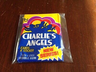 """(1) Unopened Mint Wax Pack- 1977 Topps """"Charlie's Angels"""" (2nd Series)"""