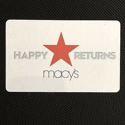 Macys Merchandise Credit Gift Card For $328.42