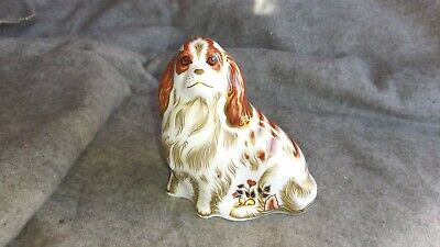 Royal Crown Derby Cavalier King Charles Spaniel 2003