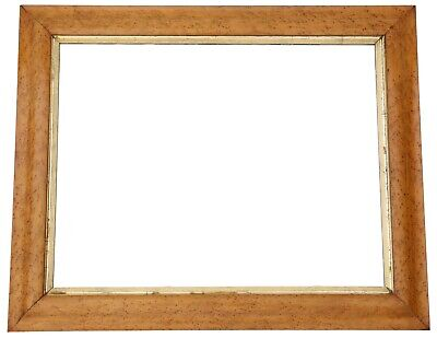 Antique quality Victorian bird's eye maple overmantle or wall mirror C1880