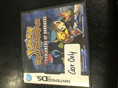 Pokemon Mystery Dungeon: Explorers Of Darkness Ds  3Ds 2Ds Ds **Case Only!**