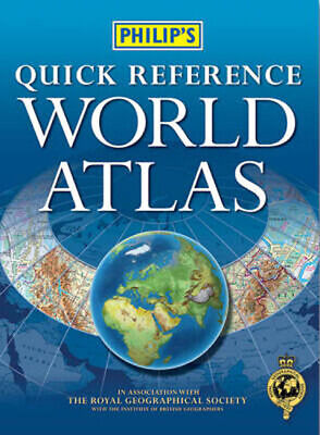 Philip's Quick Reference World Atlas (Paperback / softback) Fast and FREE P & P