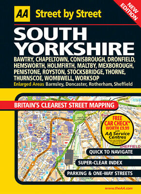 Street by street: South Yorkshire: Bawtry, Chapeltown, Conisbrough, Dronfield,