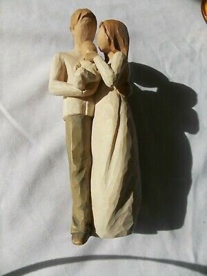 """Willow Tree """"Our Gift"""" Figurine By DEMDACO 2006 Susan Lordi"""