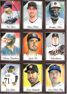 2019 Topps Gallery Canvas Parallel Singles***You Pick***