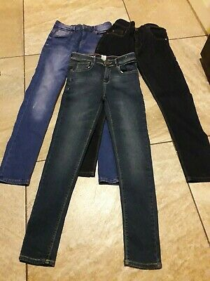 New 3 x NEXT Boys Skinny Jeans age 12 years (Bundle)