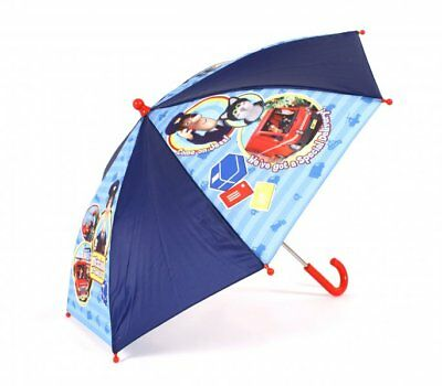 "Bnwt Postman Pat ""We've Got Special Delivery"" Umbrella In Navy Blue"