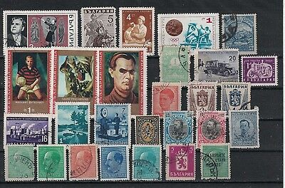 BULGARIA: Mint or Used  Small collection of good stamps (BLG-1)