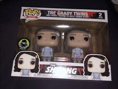 Funko Pop Movies The Shining The Grady Twins 2 Pack PC PopCultcha Exclusive
