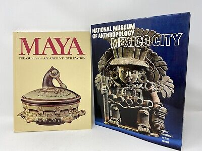 Maya Treasures Of An Ancient Civilization + Museum Of Anthropology Mexico City