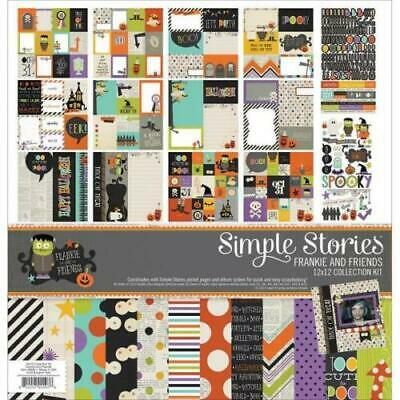 Simple Stories Frankie & Friends 12X12 Collection Kit & Embellishments