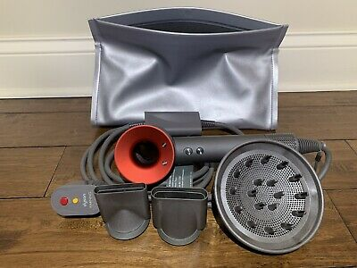 Dyson HD01 Supersonic Hair Dryer RED/IRON - Rare Color