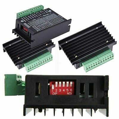 TB6600 Single Axis 4A Stepper Motor Driver Controller 9~40V Micro-Step CNC BLK