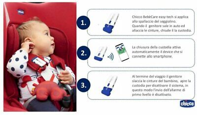 Chicco dispositivo anti abbandono  auto bebè care easy-tech - Farmacia Succi