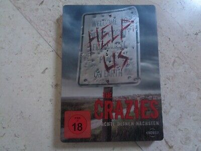 THE CRAZIES 2 Disc SteelBook Blu-ray DVD Timothy Olyphant Radha Mitchell Remake