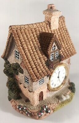 William Widdop Miniature Cottage Decorative House Clock Quartz