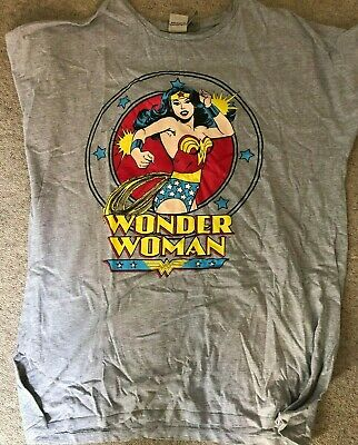 Wonder Woman Night Gown/Dress:  Size 20,  ASOS, USED, Grey
