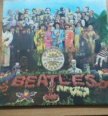 The Beatles Sgt. Peppers Lonely Hearts Club Band Original Vinyl