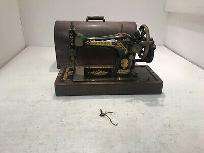 Vintage Singer Sewing Machine Used Good Condition (HC)