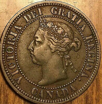 1891 Canada Large Cent Penny 1 Cent