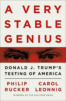 A Very Stable Genius: Donald J. Trump's Testing of America (INSTANT DELIVERY)