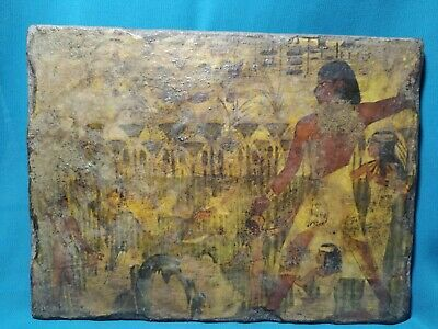 Hunting and hiking in the ancient Egyptian.. wood 1