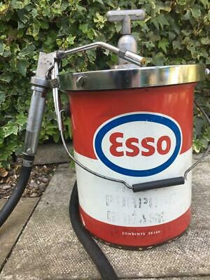 Truck maintenance Grease Gun Pump Esso Advertising Grease Gun Man Cave Mantique