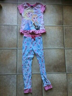 Frozen Pyjamas Set - 7 - 8 years, Disney, Tu, Sainsburys, Princess Elsa, Anna