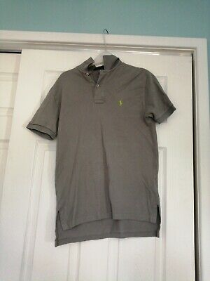 Mens ralph lauren polo shirt size small