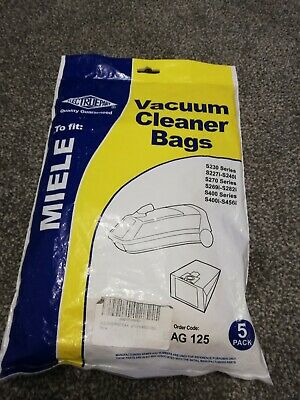 Electruepart Vacuum Dust Bags For Miele G & H Type S230 Series (Pack Of 5)..New