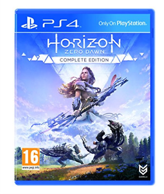 PS4-Horizon Zero Dawn - Complete Edition - Playstation Hits (Ps4) GAME NEW