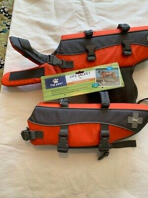 2 NEW Top Paw Life Jacket Vests, size Medium