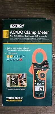 Extech Instrument EX830 True RMS AC/DC Clamp Meter