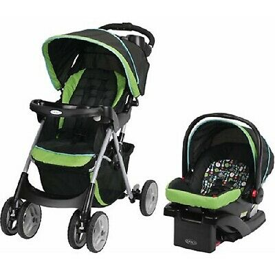Graco Click Connect Infant Travel System Stroller with Car Seat Combo Unisex Set