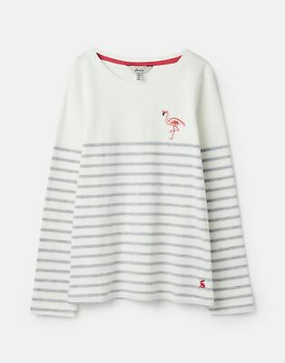 Joules Girls Harbour Luxe   Mini Me Jersey Top Shirt   -  Size 5yr