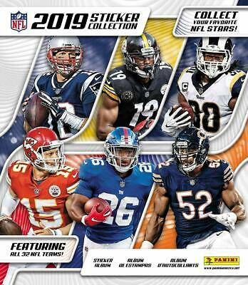 2019 Panini NFL Collectible Stickers - Pick Eight (8)