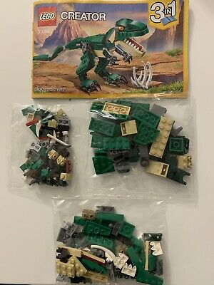 LEGO 31058 CREATOR Dinosaurier Triceratops Pterodactylus Mighty Dinosaurs N2/17