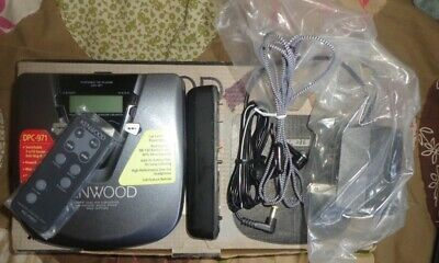 Vintage Kenwood DPC-971 Portable CD Player Kit - Great Condition -RARE!