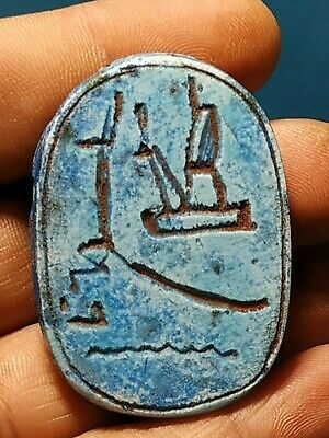 Pharaonic scarab is very rare
