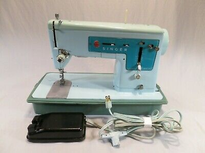 Vintage Singer 347 Zig Zag Quilting Sewing Machine, Cleaned & Tested