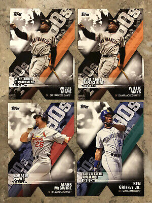 2020 Topps Series 1 Decade Of Dominance Insert Lot Of 18 Cards